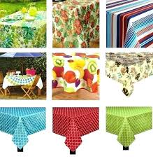 round outdoor tablecloth with umbrella hole