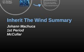 Inherit The Wind Summary By Johann Machuca On Prezi