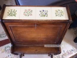 Rar Barschrank Kommode 50er Jahre Vintage Antik Holz Alt