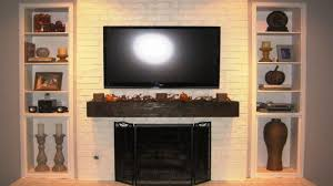 entertainment center with fireplace insert luxury homey touch to your living with brick fireplace crown molding