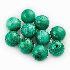 Купить <b>Бусина</b> малахит Конго <b>шарик 10-10</b>,<b>5</b> мм (1 шт) Доставка ...