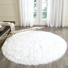 beautiful inspiration faux sheepskin rug creative decoration area home gray fur thick grey high fake