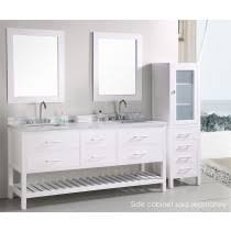 affordable bathroom vanities canada. design element london cambridge (double) 72-inch white modern bathroom vanity set affordable vanities canada e