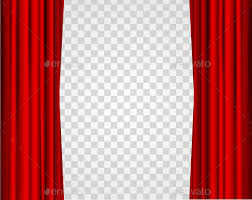 transparent background. Contemporary Transparent Realistic Red Opened Stage Curtains On A Transparent Background   Backgrounds Decorative Throughout