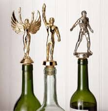 How To Make Decorative Wine Bottle Stoppers Wine corks from old trophiesbrilliant also shows you how to us 100