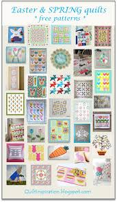 266 best Free quilt patterns images on Pinterest | Free pattern ... & free patterns = Easter and spring quilts: tulips, bunnies, eggs, carrots Adamdwight.com