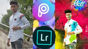 Happy Holi concept dp editing ...