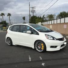 My Honda Fit with Custom Exhaust modified by Sparky at Rogers ...