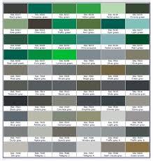 Ral Chart Ral Color Chart Bronze Www Bedowntowndaytona Com