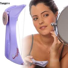 details about hair remover threading epilator defeatherer spring diy makeup tools t5g1