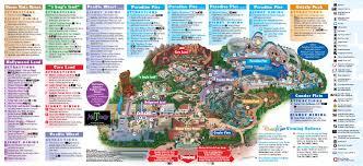 disneyland inside out  disneyland park information  maps