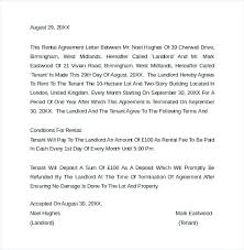 Sample Home Rental Agreement Sample Rental Agreement Letter To Cancel Lease End – jumpcom.co ...