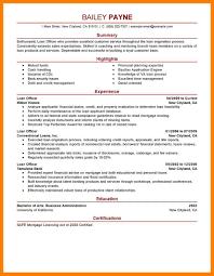 12 Financial Resume Templates Xavierax