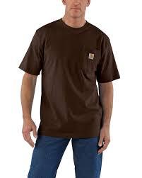 Carhartt Size Chart Mens Carhartt K87 Mens Workwear Pocket Short Sleeve T Shirt