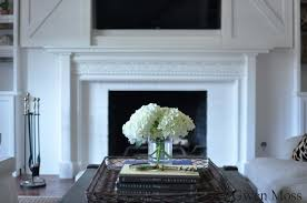 my diy cottage style fireplace mantel reveal
