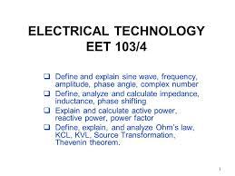 electrical technology eet 103 4