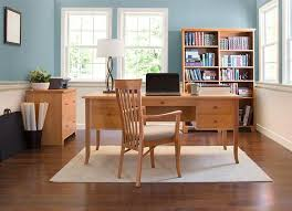 home office wood desk. Cherry Wood Flare Leg Executive Desk | Home Or Office Solid Wood, Vermont Made A