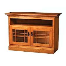 Mission Style Tv Stand Solid Oak With Cabinet 60 – oznium.me