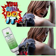 greencaine numbing cream for painless tattooing laser hair or tattoo removal us