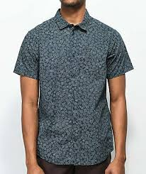 Patterned Button Up Shirts Awesome Mens Button Up Shirts Zumiez