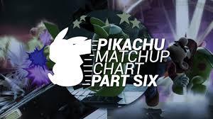 Esamesad Pikachu Match Up Chart June 2017 Part 6 Final