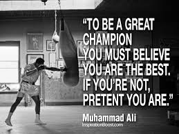 Champion Quotes Classy Muhammad Ali Quotes Be A Great Champion Inspiration Boost