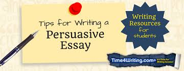 Tips For Writing An Essay Tips On Writing A Persuasive Essay Time4writing