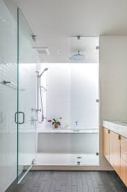 austin shower tub combo with metal cabinet and drawer pulls bathroom contemporary rain showerhead white tile
