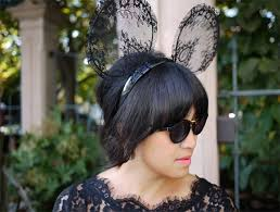 diy lace mickey mouse ears honestly