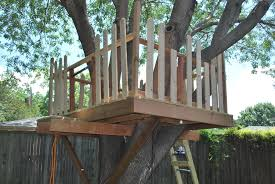 how to build a treehouse. How To Build A Tree House Small Treehouse