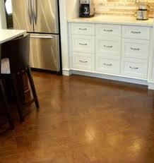 cork flooring kitchen. Plain Kitchen Actual Website Herringbone Cork Floor With Flooring Kitchen