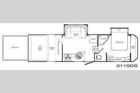 1 floorplan 2008 heartland razor 3110ds