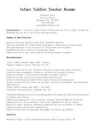 Child Care Resume Sample Classy Child Care Skills Resume Child Care Resume Templates Free Sample