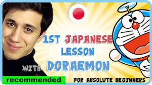 Learn basic Japanese with Anime Doraemon - For absolute beginners (Eng) -  YouTube