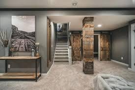 Decoration Unfinished Basement Finished Ideas Decor Tags Decorating Fascinating Interior Design Basement Plans