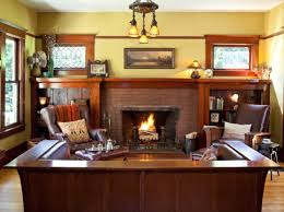 Period Living Room Hollywood Ending For A 1907 Foursquare Arts Crafts Homes And