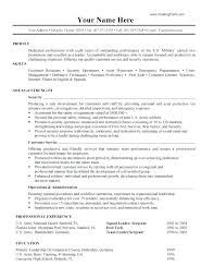 Intelligence Officer Resume Example Best Of Resume For Military Resume For Military Military To Civilian Resume