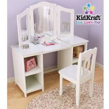 vanity set for girls table stool chair 3 mirror kids view larger