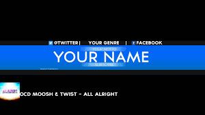 youtube banner art. Beautiful Banner Where Music Meets Your Desktop In Youtube Banner Art O