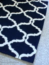 ivory and navy living rooms design ideas navy and ivory rug