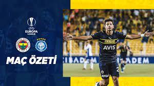 MAÇ ÖZETİ: Fenerbahçe 1-0 HJK Helsinki - YouTube