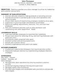 Sales Associate Qualifications Retail Supervisor Job Warehouse Manager Description Sales