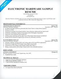Sample Resume For Electronics Technician Resume Electronic Technician Format Socialum Co