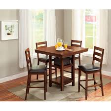 Kitchen Table Chair Set Dining Room Tall Kitchen Table Sets Rustic Dining Tables