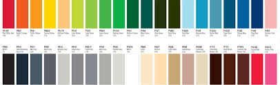Colour Chart Ncsresins