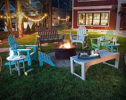 eclectic outdoor furniture. Eclectic Outdoor Furniture. Patio Furniture Mix Around Fire Pit C S