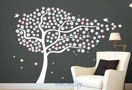 zoom tree stencil for wall palm uk decal cherry birch tree stencil