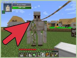 How To Make An Iron Golem In Minecraft 8 Steps With Pictures