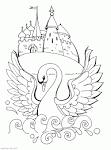 Раскраска из сказок пушкина