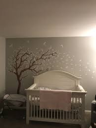 breezy tree wall decal and bird